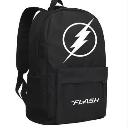 Japanese Anime Bag New The Flash Backpack Cosplay Justice League  Cartoon Bag  Oxford Schoolbag AT_59_4