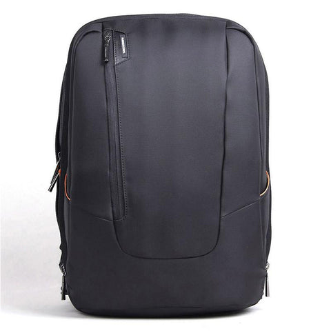 15 inch Black Fashion Slim Laptop Backpack Business Computer Bag with Earphone Port Anti Theft Travel Bag for College Students