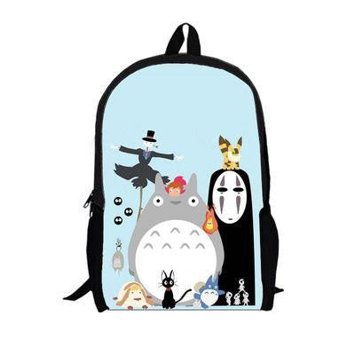 Japanese Anime Bag  Tonari no Totoro Cosplay 2017 new men and women casual cute travel backpack child birthday gift AT_59_4
