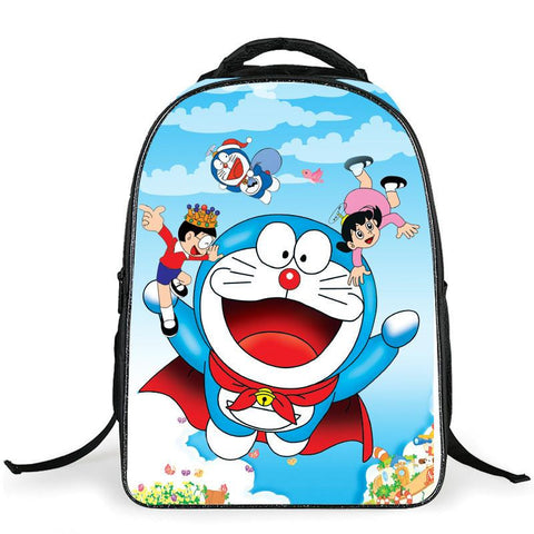 Japanese Anime Bag  Doraemon Cosplay 2017 new fashion casual backpack men and women travel backpack AT_59_4