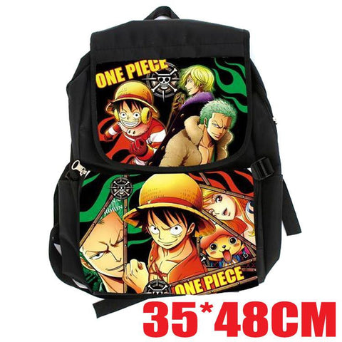 Japanese Anime Bag  One Piece Cosplay 2017 new men and women casual fashion large capacity backpack child birthday gift AT_59_4