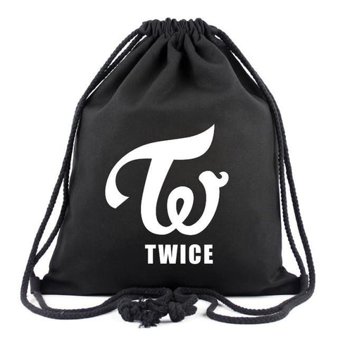 Drawstring Backpack TWICE Shoulder Bags