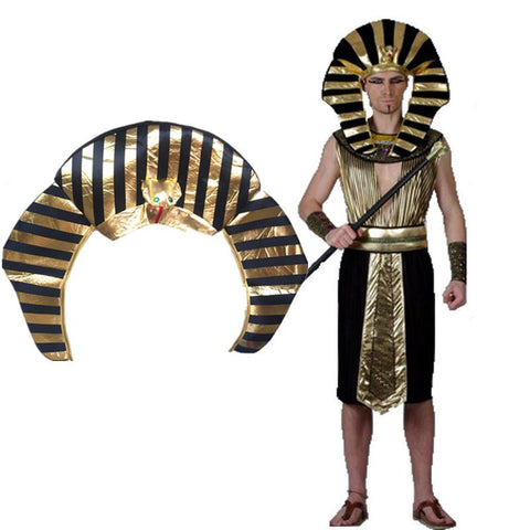 Egyptian Pharaoh Costumes Hats Crown Caps Halloween Party Adults Kids Children Hats Headwear Men Fancy Costume  sc 1 st  Animetee.com & Egyptian Pharaoh Costumes Hats Crown Caps Halloween Party Adults ...