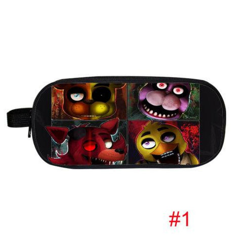 Anime Five Nights At Freddy Pencil Holder Boys Girls School Case Bag Five Nights At Freddys Kids Cases Material Escolar Lapices