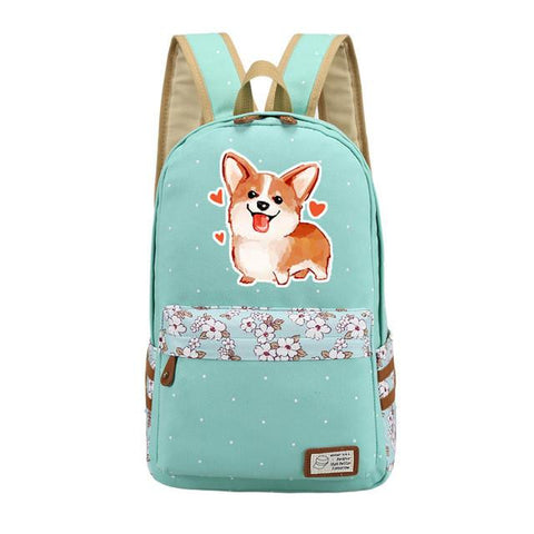 A Dog's Purpose Girls School Bags Women Cartoon Dog Canvas Bags Student Laptop Backpacks Anime Rucksack Schoolbag Woman Backpack