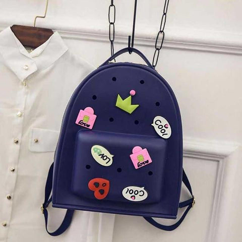 4-10 Years Old Cute Animals Silica Gel Kids Jelly Child Backpacks Primary School Students Bag Travel Bag Mini School Bag Mochila