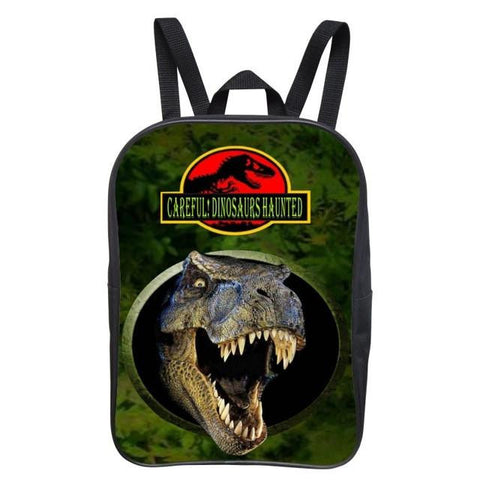2017 New Style 12 Inches Printing Animal Dinosaur Kids Baby School Bags Kindergarten Bag for Children Backpacks Boys Schoolbag