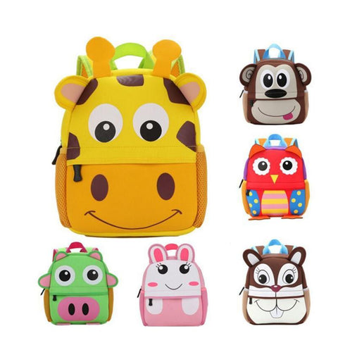 Japanese Anime Bag 2017 3D Cute Big Size  Backpacks And Kids School Bags For Primary Girls Boys Cartoon Shaped Children School Backpacks AT_59_4