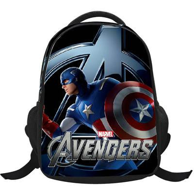 ... Marvel s The Avengers Cartoon Captain America Children Backpacks Boys  Schoolbag Iron Man bags Printing School Backpack ... c5515c104f6c3