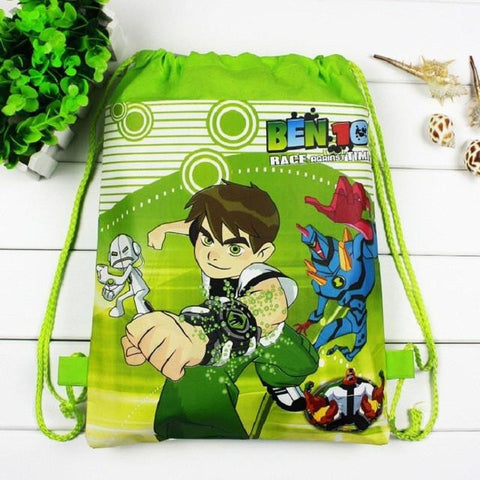 1 pieces / los Dora Kids Cartoon Drawstring Trainers for Girls, Kids Birthday Party Favor, Mochila School Kids Backpack1548