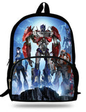 16-Inch Boys School Backpack Megatron Autobots SchoolBags For Kids 7-13 Years Old Cartoon Bags Children Mochila Escolar Menino
