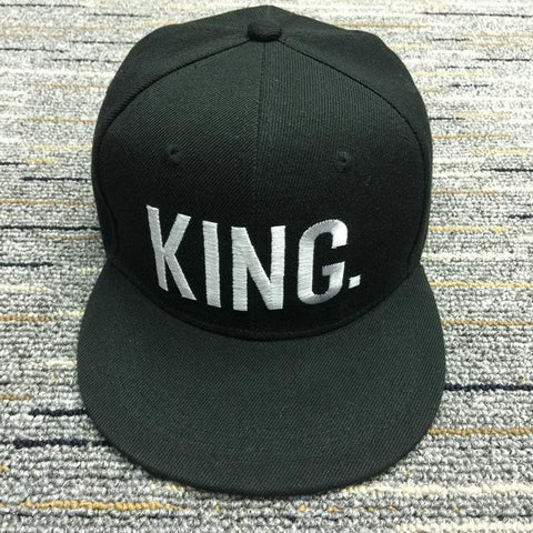 7414dd6d0a8af King Queen Letter Embroidery Casual Baseball Cap Women Men Snapback ca –  2018 AT 142 30 (Animetee.com Friends)