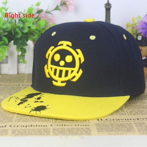 Fashion Anime One Piece Baseball Cap Trafalgar Law Sun Hat Sign Skull –  2018 AT 142 30 (Animetee.com Friends) f36ab05623e9