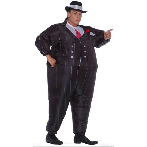 2016 New gangster inflatable costume halloween costume for men inflatable suit black suits inflatable Gangster carnival  sc 1 st  Animetee.com & 2016 New gangster inflatable costume halloween costume for men ...