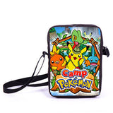 Anime Pokemon Pikacun Mario Dragon Ball Mini Messenger Bag Girls Boys School Bags Kids Book Bag Shoulder Bags For Snacks Lunch - Animetee - 21