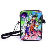 Anime Pokemon Pikacun Mario Dragon Ball Mini Messenger Bag Girls Boys School Bags Kids Book Bag Shoulder Bags For Snacks Lunch - Animetee - 13