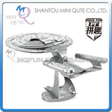 3D Star Trek USS Enterprise Klingon Vorcha Bird of Prey Metal Puzzle Geek Beyond Khan - Animetee - 4