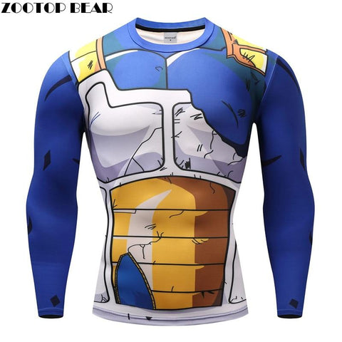 Dragon ball Dragonball capsule  T shirts Men Anime Fitness T-shirts Cosplay Compression Tshirts Bodybuilding Tops Tees Naruto GOKU Vegeta Camiseta AT_85_9