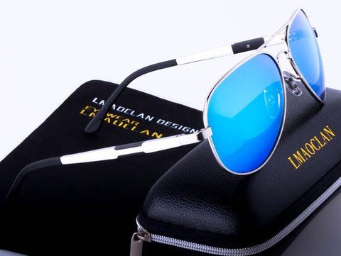 2017 Fashion Polarized Aluminum Magnesium Vantage Sunglasses Men Women Driving Eyewear Sun Glasses Points Male Oculos