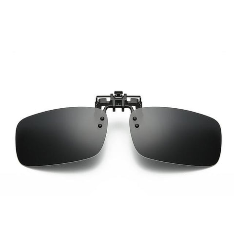 Hindfield Polarized Clip On Sunglasses Men Driving Lens Sun Glasses Male Anti-UVA UVB Eyewear Accessories Lenses Oculos