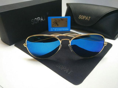 2017 SOPAT Aviator sunglasses Polarized Men  women  sports Brand logo