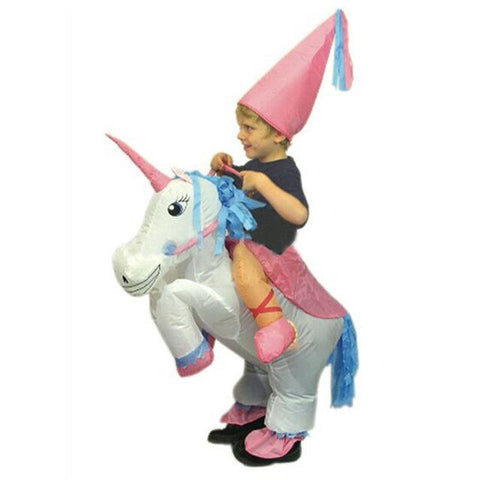 Halloween Costume For Kids Children Unicorn Inflatable Costume Funny Carnival Costumes Christmas Party costume for kids  sc 1 st  Animetee.com & Halloween Costume For Kids Children Unicorn Inflatable Costume Funny ...