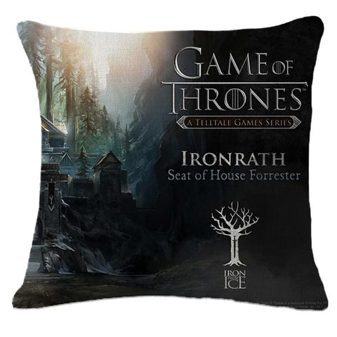 Winter Game of Thrones GOT The New Cotton Linen Cushion High Qualtity  Fashion Cojines Sa Throw Pillow Home Decor Square Almadas AT_77_7