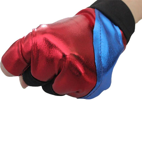 1 pc!! New 2016 Movie The Dark Knight Suicide Squad Harley Quinn Joker Figures Cosplay Gloves Costumes