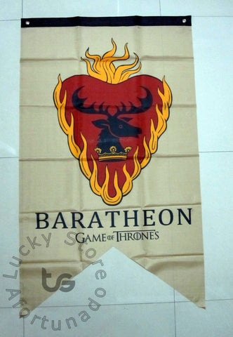 Winter Game of Thrones GOT Baratheon  series flag  family flag 75*125 CM banner AT_77_7