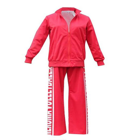 Anime  Haikyuu!! Nekoma High School Cosplay Costume  Unisex  School Uniform  Red  Jacket and Pants for Women and Men