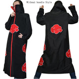1 pc S-XXLPlus Size kids costume adult naruto cosplay costume anime party Naruto cosplay Akatsuki Uchiha Itachi Cosplay