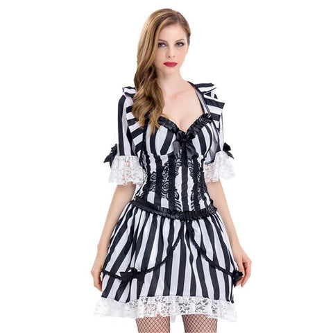 Miss Beetlejuice Costume Sexy Bugjuice Babe Crazy Spirit Dead Psycho F 2018 At 142 30 Animetee Com Sbra