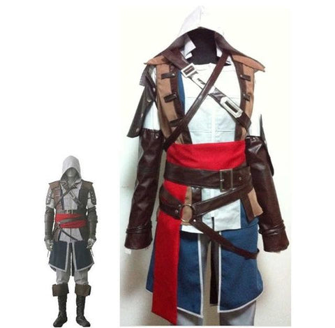 Boys Child Edward Kenway Cosplay Costume Kids Assassins Creed Iv4 Blac 2018 At 142 30 Animetee Com Sbra