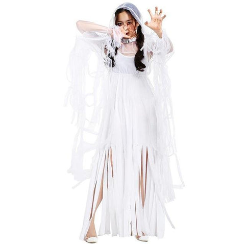 corpse bride ghost bride clothes clothing cosplay halloween costumes bloody bridal wear scary costumese0063