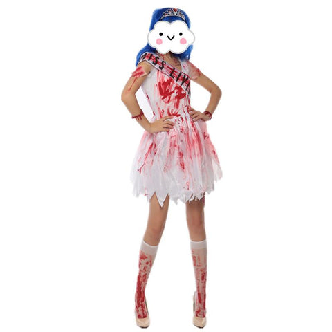 Dead Bride Halloween Costume.Halloween Bloody Horror Bride Costume Zombie Halloween Costumes Corpse Bride Halloween Costumes For Women Fancy Dress