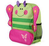 Butterfly Monkey Dog Lady Bug Dinosaur Kids Preschool Kindergarden bag school backpack - Animetee - 1