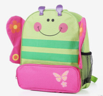 Butterfly Monkey Dog Lady Bug Dinosaur Kids Preschool Kindergarden bag school backpack - Animetee - 5