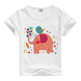Lion Pig Elephant Rabbit zoo animal variety tee t-shirt boys girls child childrens clothing - Animetee - 15
