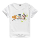 Lion Pig Elephant Rabbit zoo animal variety tee t-shirt boys girls child childrens clothing - Animetee - 19