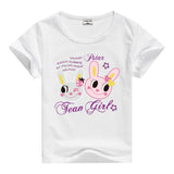 Lion Pig Elephant Rabbit zoo animal variety tee t-shirt boys girls child childrens clothing - Animetee - 14