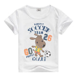 Lion Pig Elephant Rabbit zoo animal variety tee t-shirt boys girls child childrens clothing - Animetee - 18