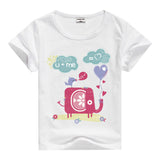 Lion Pig Elephant Rabbit zoo animal variety tee t-shirt boys girls child childrens clothing - Animetee - 17