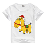 Lion Pig Elephant Rabbit zoo animal variety tee t-shirt boys girls child childrens clothing - Animetee - 13