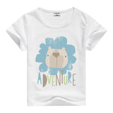 Lion Pig Elephant Rabbit zoo animal variety tee t-shirt boys girls child childrens clothing - Animetee - 16
