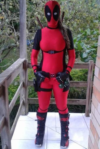 lady deadpool cosplay costume adult men women accessories for kids spandex mask movie costumes deadpool spandex & lady deadpool cosplay costume adult men women accessories for kids ...