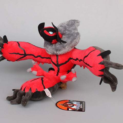 18'' 45cm Anime Cartoon Pokemon XY Yveltal Soft Stuffed Plush Toy Dolls - Animetee