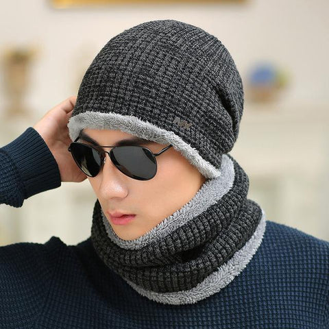 f5f134edbfb98 Male winter knitted sheep letters ny knitted hat winter hat old man ca –  2018 AT 142 30 (Animetee.com SBRA)