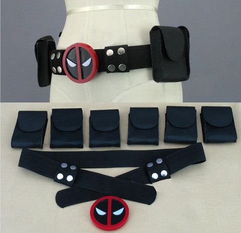 Deadpool Dead pool Taco New  X-Men Superhero metal Belt Accessories Costume Cosplay Props AT_70_6