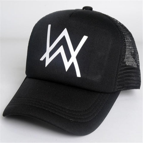44b134070 2017 New Alan Walker Unisex Snapback Sun Hat Embroidery Cotton Baseball  Caps Women Men Solid Color Dad Hats Casquette Homme