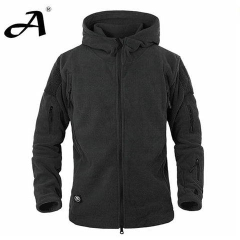 Trendy MEGE Brand Men military clothing tactical fleece jacket casual coat, hoody army outwear winter jacket men casacos AT_94_13